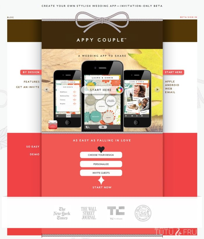 With Appy Couple, you can choose from their stylish