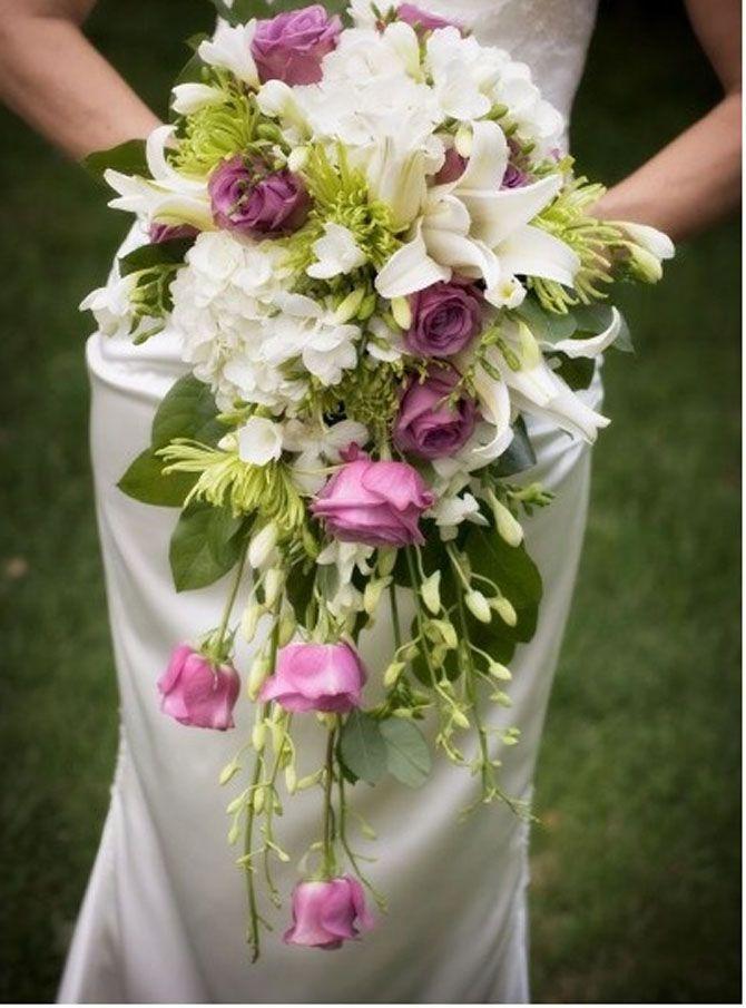 Muitas vezes Buquês de noiva em cascata | Bridal bouquets, Wedding and Weddings SB28