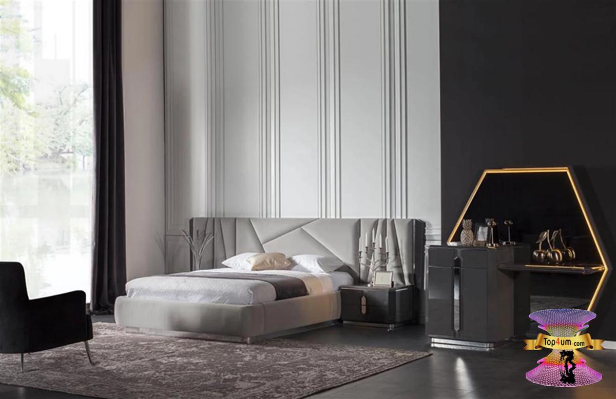 احدث كتالوج صور غرف نوم 2021 Bedroom Designs Bedroom Bed Design Bedroom Furniture Design Luxury Bedroom Master