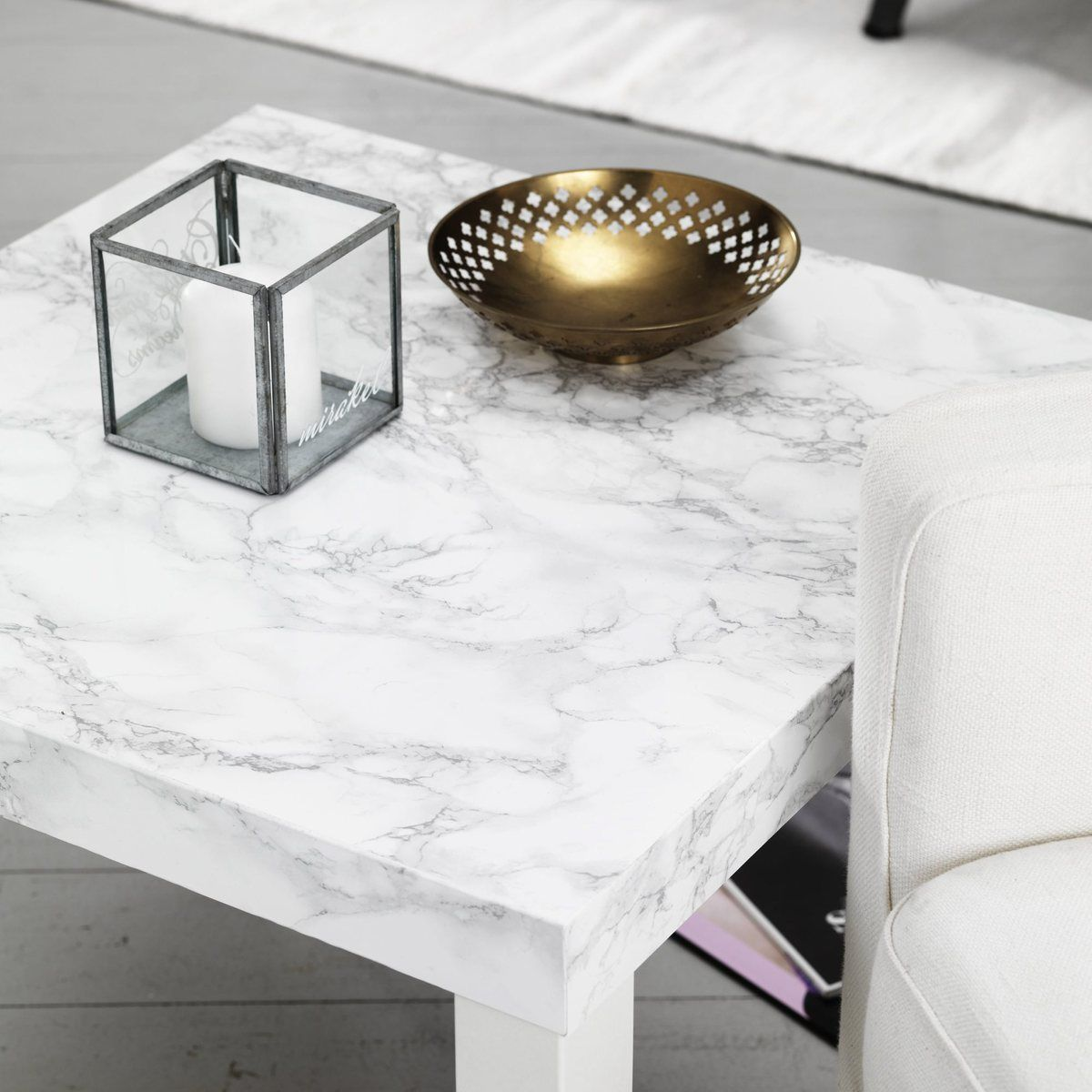 Coffee Table With Marble