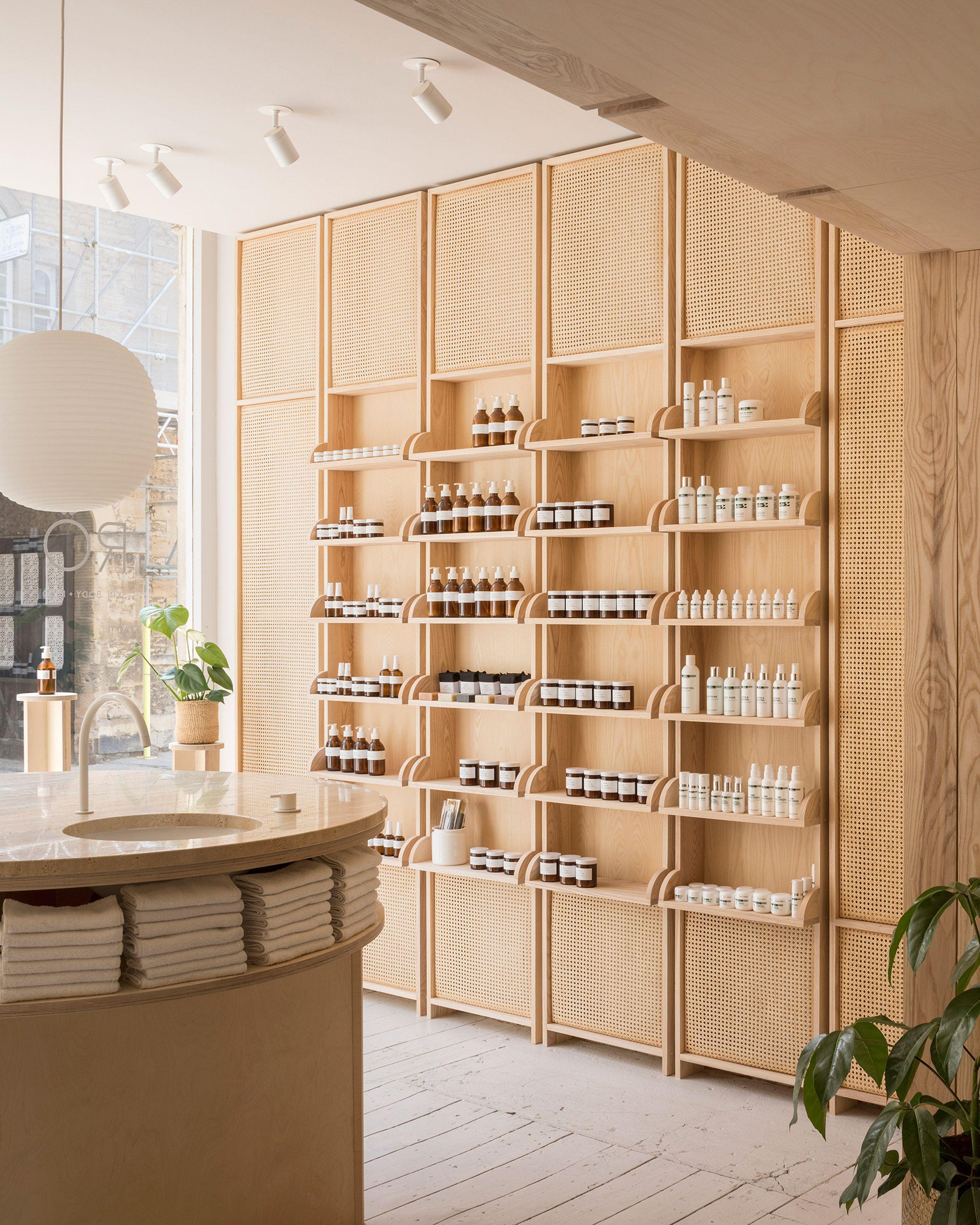O\'Sullivan Skoufoglou Architects completes RÖ Skin shop in ...