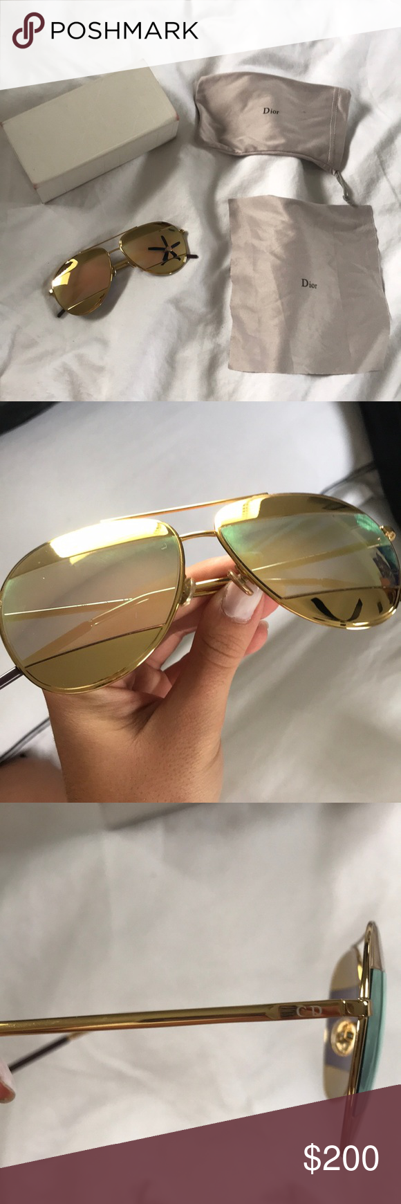 1d7990da7a0a Dior Split 1 Aviator Sunglasses If ever you want to feel like JLO in these  streets... these sunnies are for you. Sadly I paid full price for these