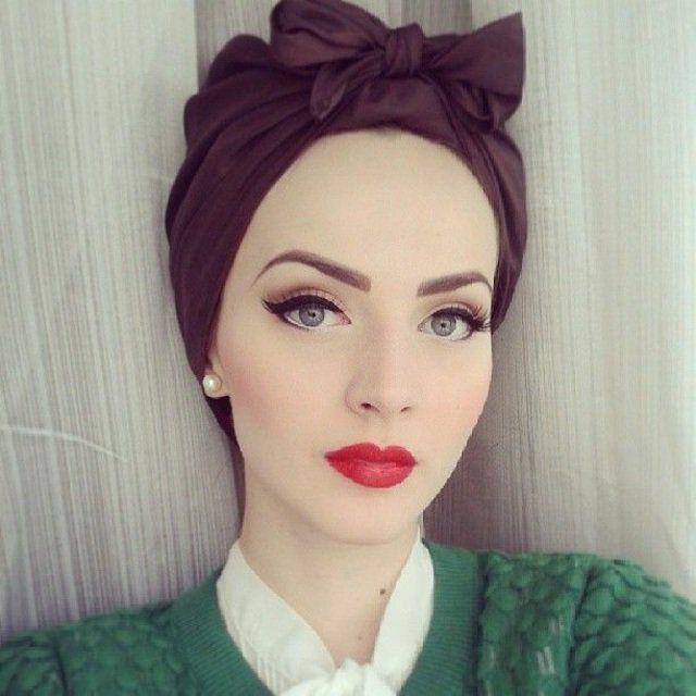 Extrem Maquillage yeux bleus en style vintage | Idées de maquillage  PH58