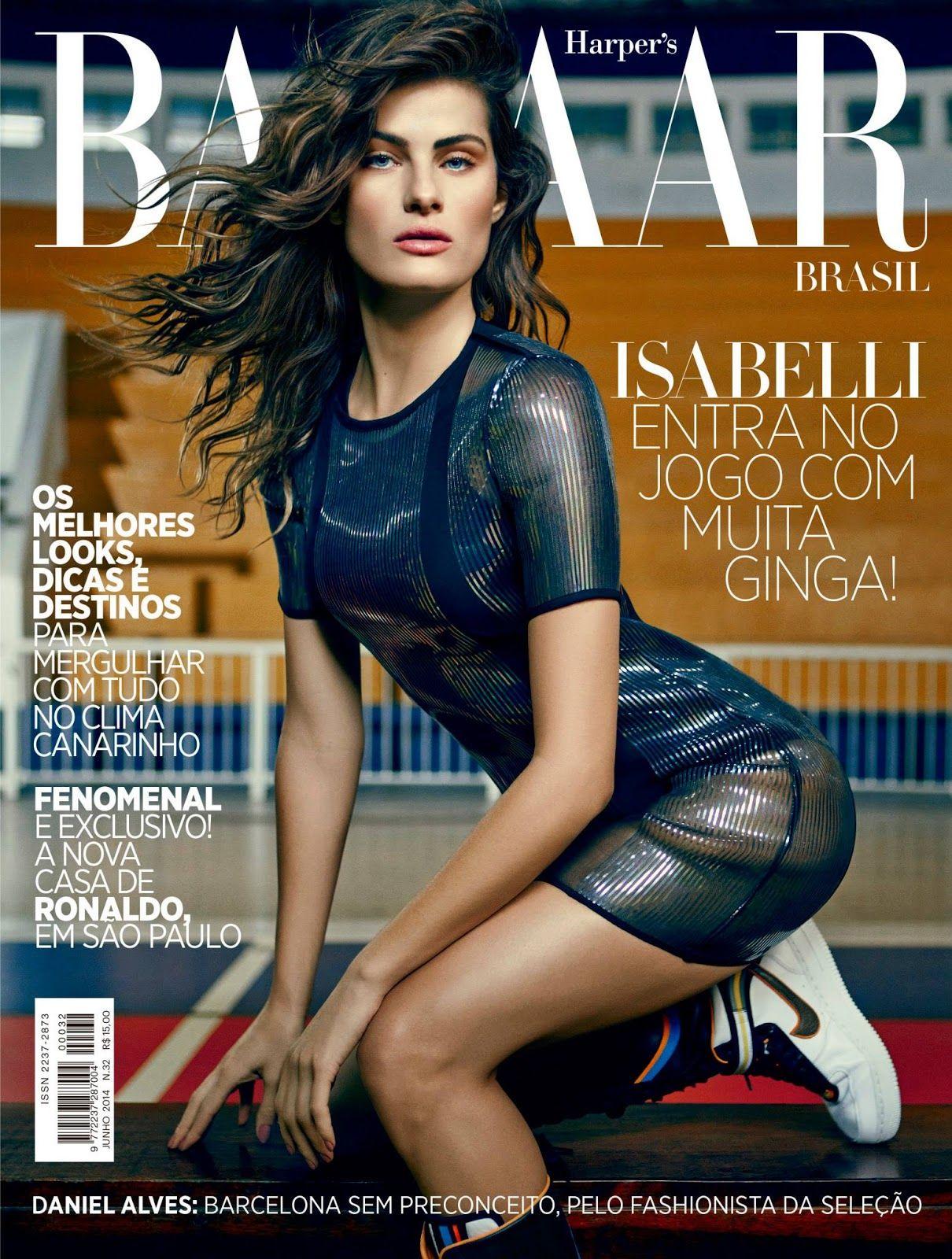 Jogadora De Elite: Isabeli Fontana By Fabio Bartelt For Harper's Bazaar Brazil June 2014