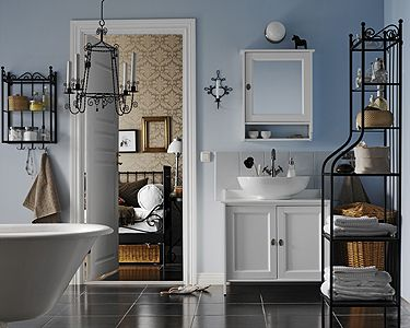 badezimmer im landhausstil badezimmer im landhausstil wohnen garten w nde pinterest. Black Bedroom Furniture Sets. Home Design Ideas