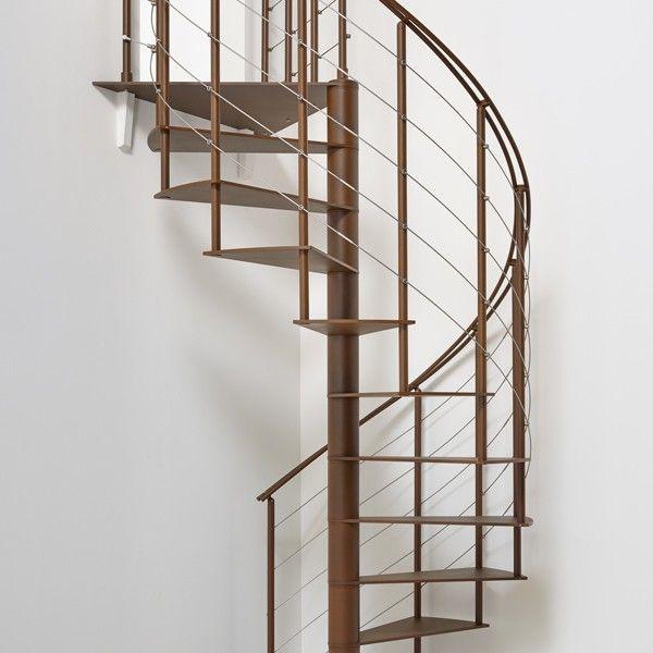 Best Fontanot Slim Med Bilder Spiraltrapp Staircase Trapp 400 x 300