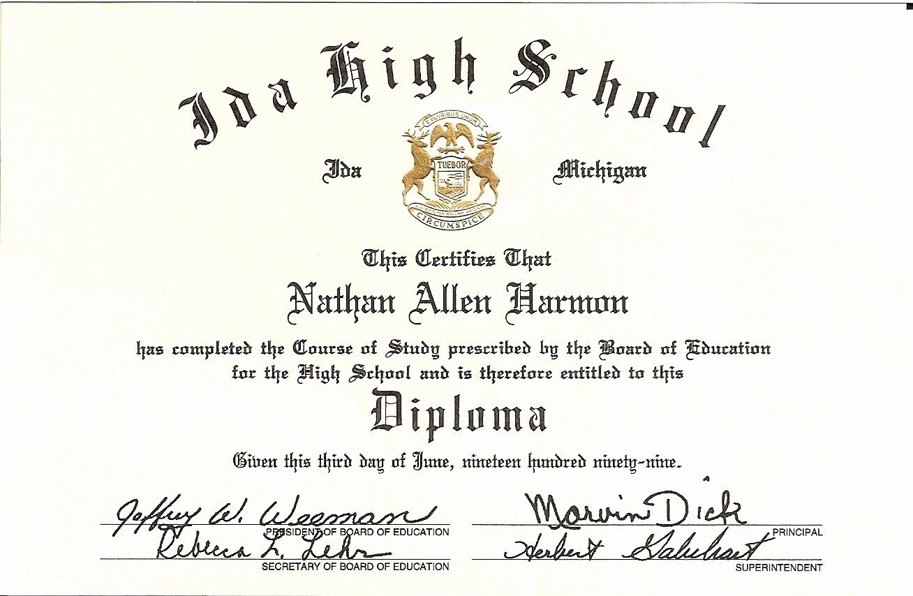 40 High School Diploma On Resume in 2020 High school ad