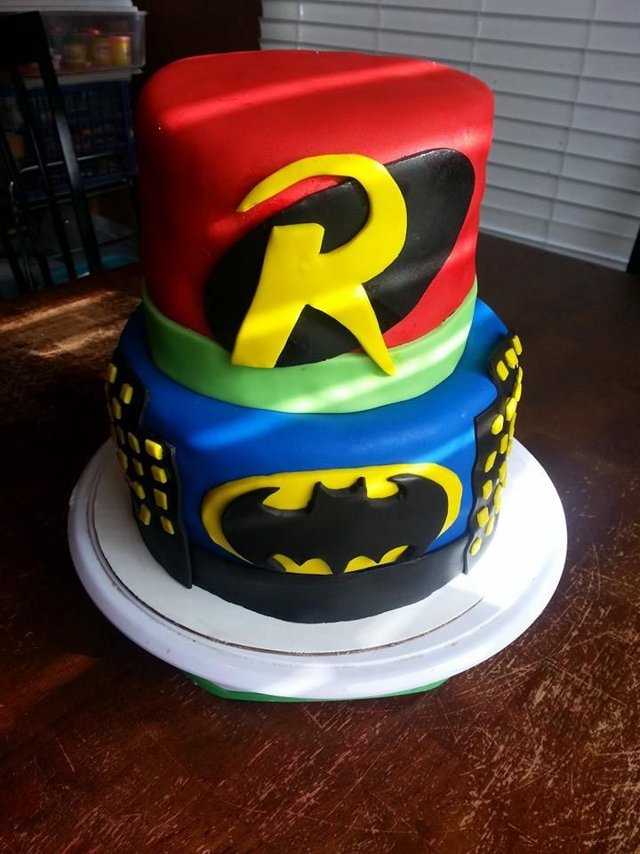 Batman And Robin By Ashleas Cakes By Ally Cats Cupcakes