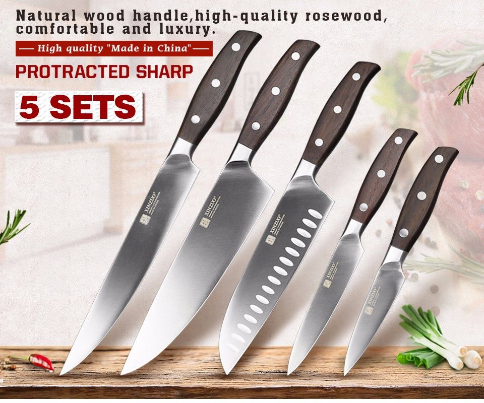 We Found The 10 Best Kitchen Knife Sets From Aliexpress Based On