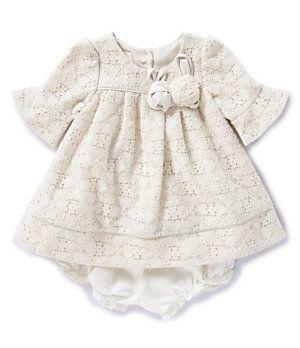 Laura Ashley London Newborn 24 Months Lace Dress Dillard