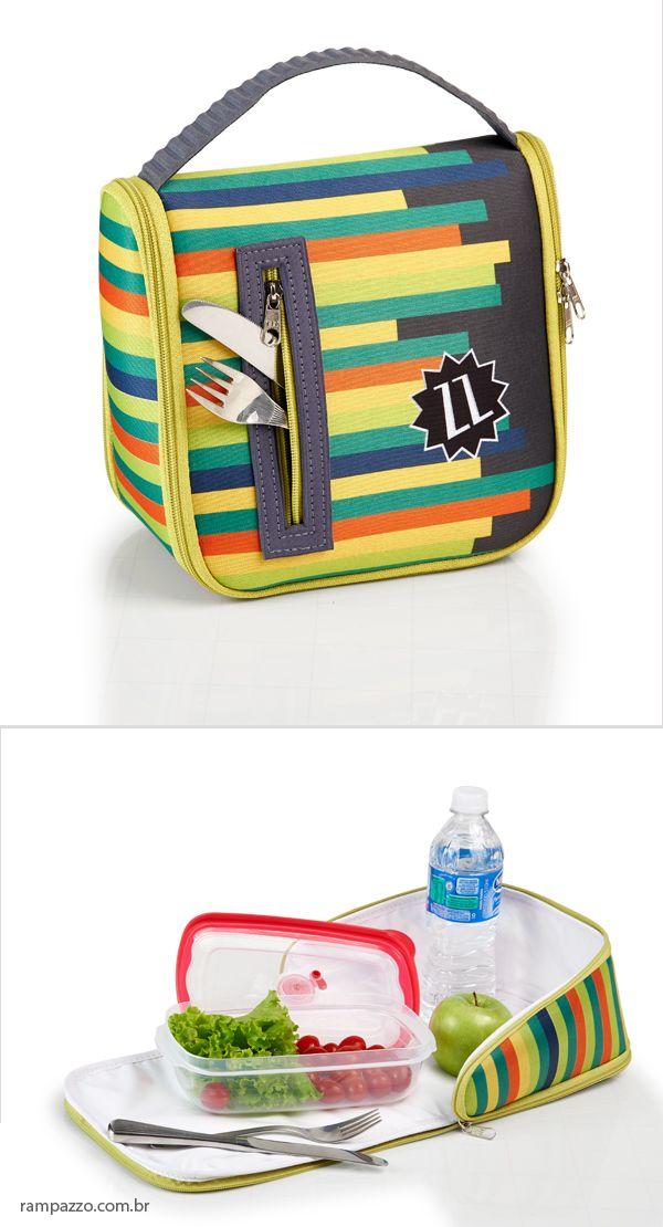 1fd730e1f Porta marmita com estampa personalizada. Brindes funcionais em  rampazzo.com.br Bolsa Para