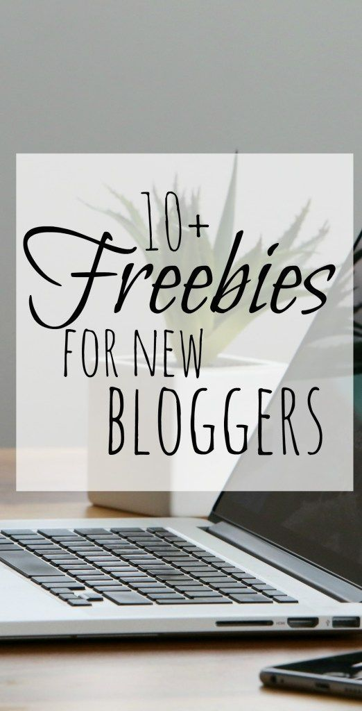 Freebies for new bloggers