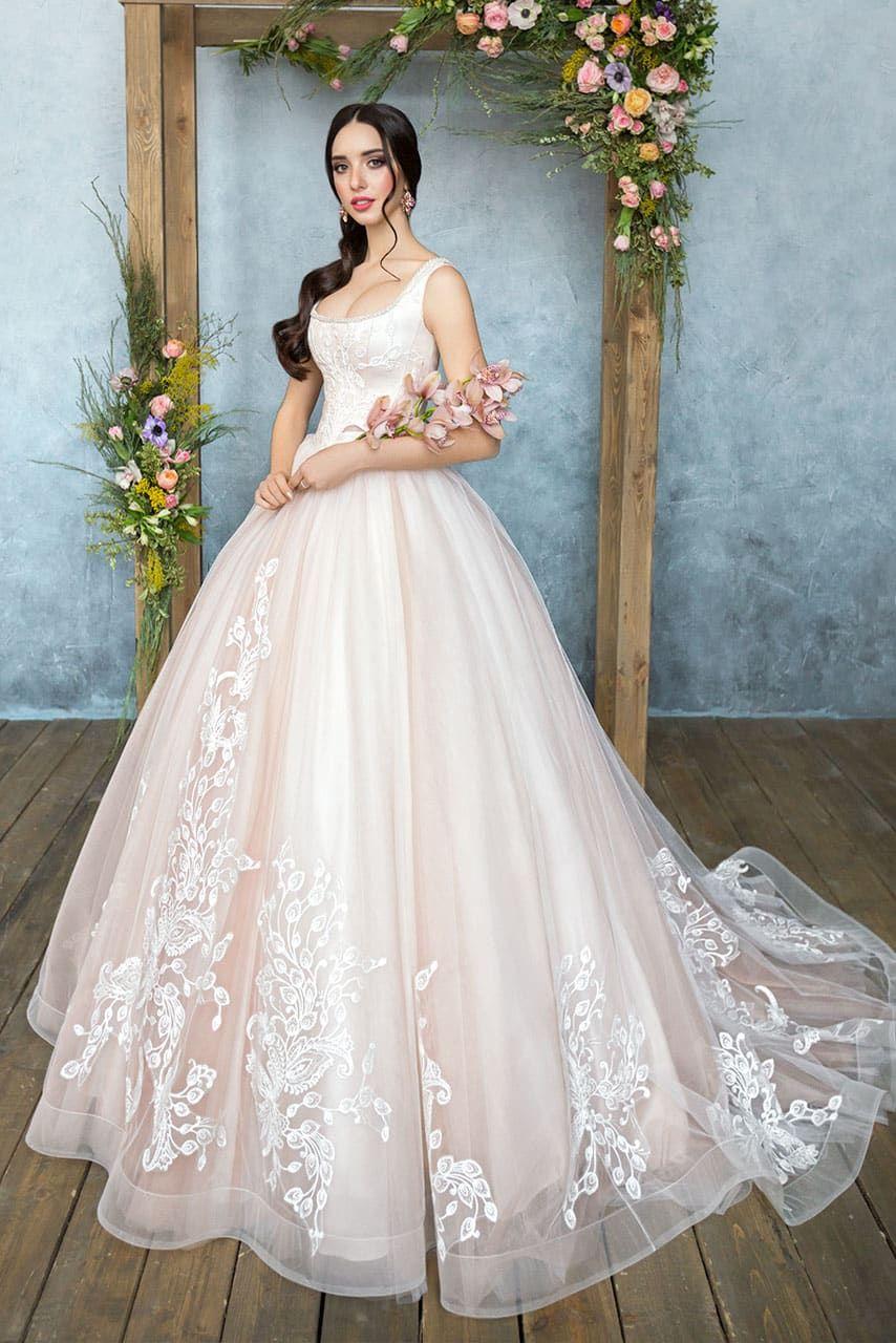 537f9e51d3acab9 Свадебное платье Анна Кузнецова Armel ▷ Свадебный Торговый Центр Вега в  Москве