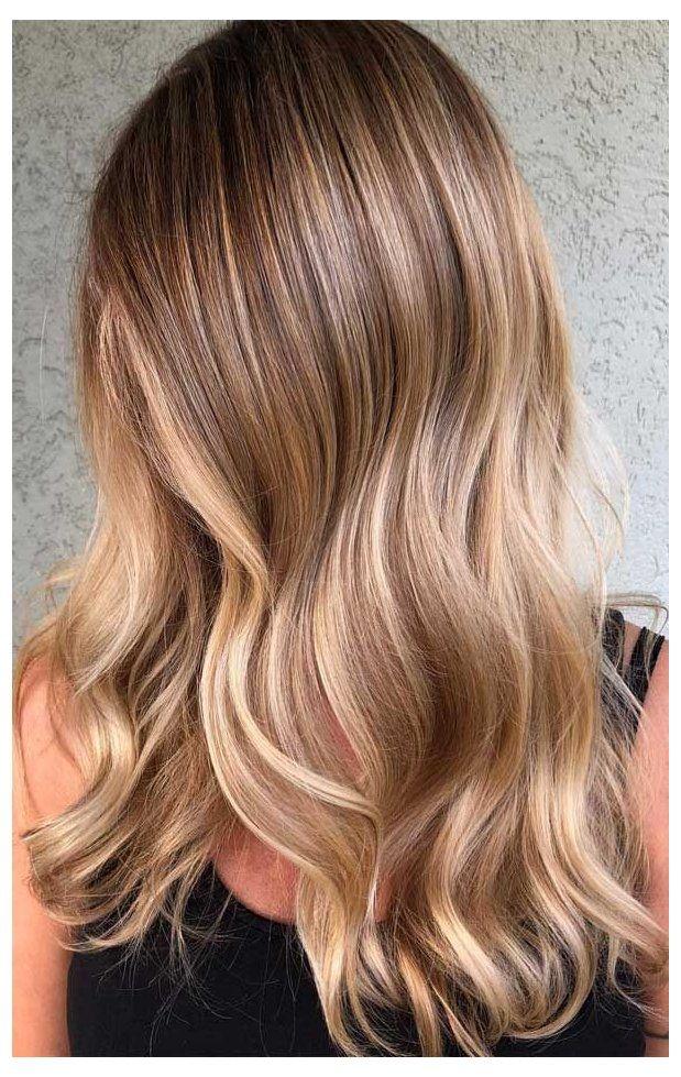 dark blonde hair warm light brown