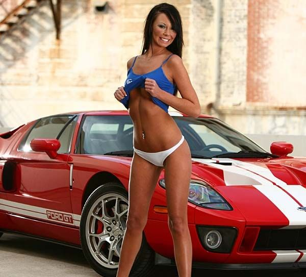Red Ford Gt With Blue Top Girl Girls Amp Cars Pinterest
