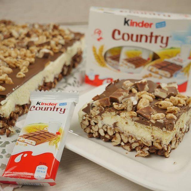 Rezept Kinder Country Kuchen Ohne Backen Kinder Country Schnitten