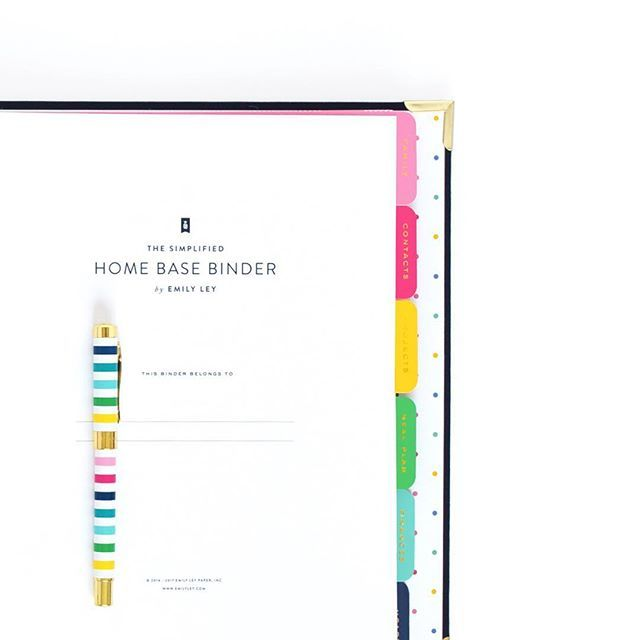 Our Best-selling Home Base Binder (the Ultimate Home