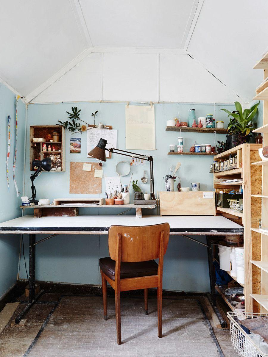Chill home work space Lucile Sciallano