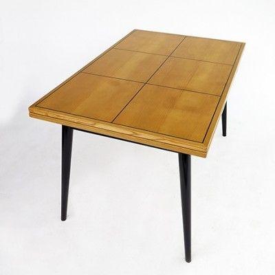 Dining Table By Hans Bellmann For Horgen Glarus Design Vintage Designs Horgen