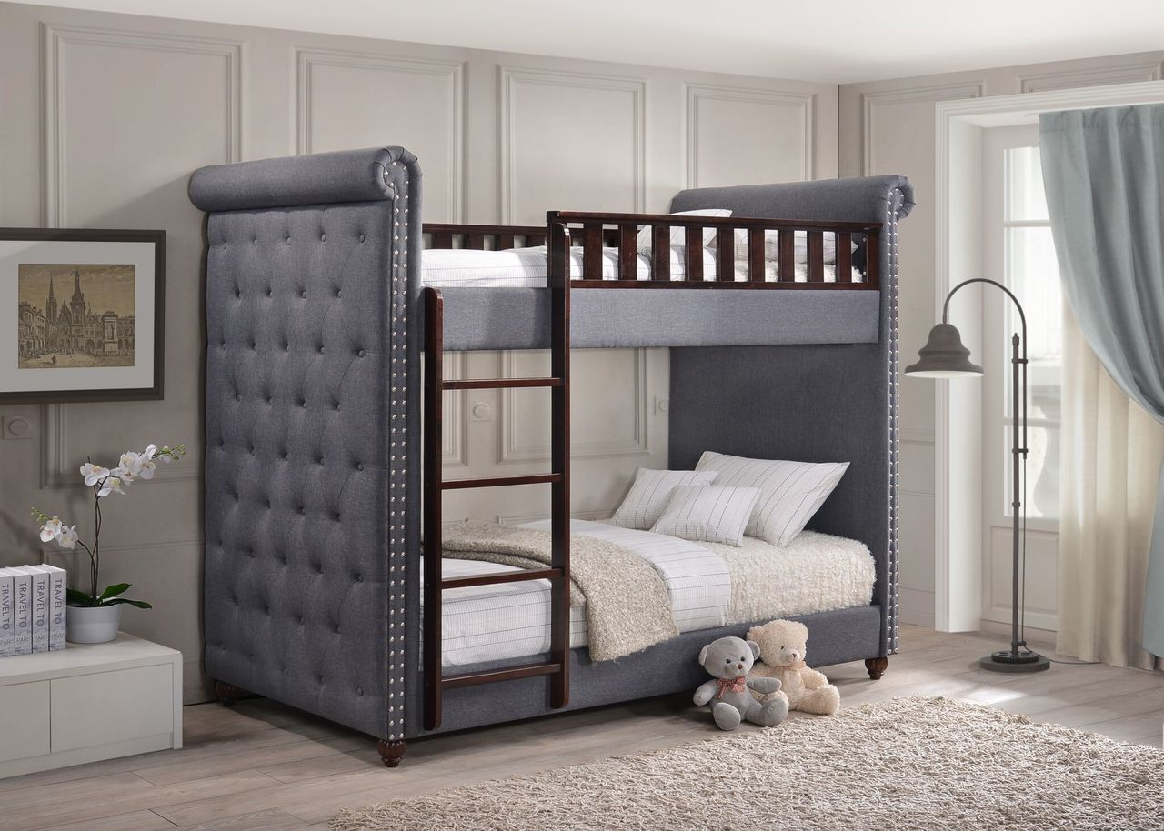 Generation Trade Amelia Upholstered Bunk Bed 146000 Savvy Discount Furniture Single Bunk Bed Bunk Beds Cool Bunk Beds