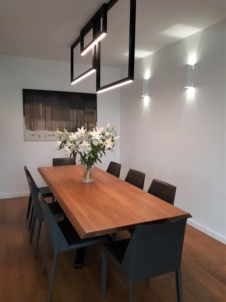 Nowoczesne Oswietlenie W Jadalni House Design Home Decor Modern Design