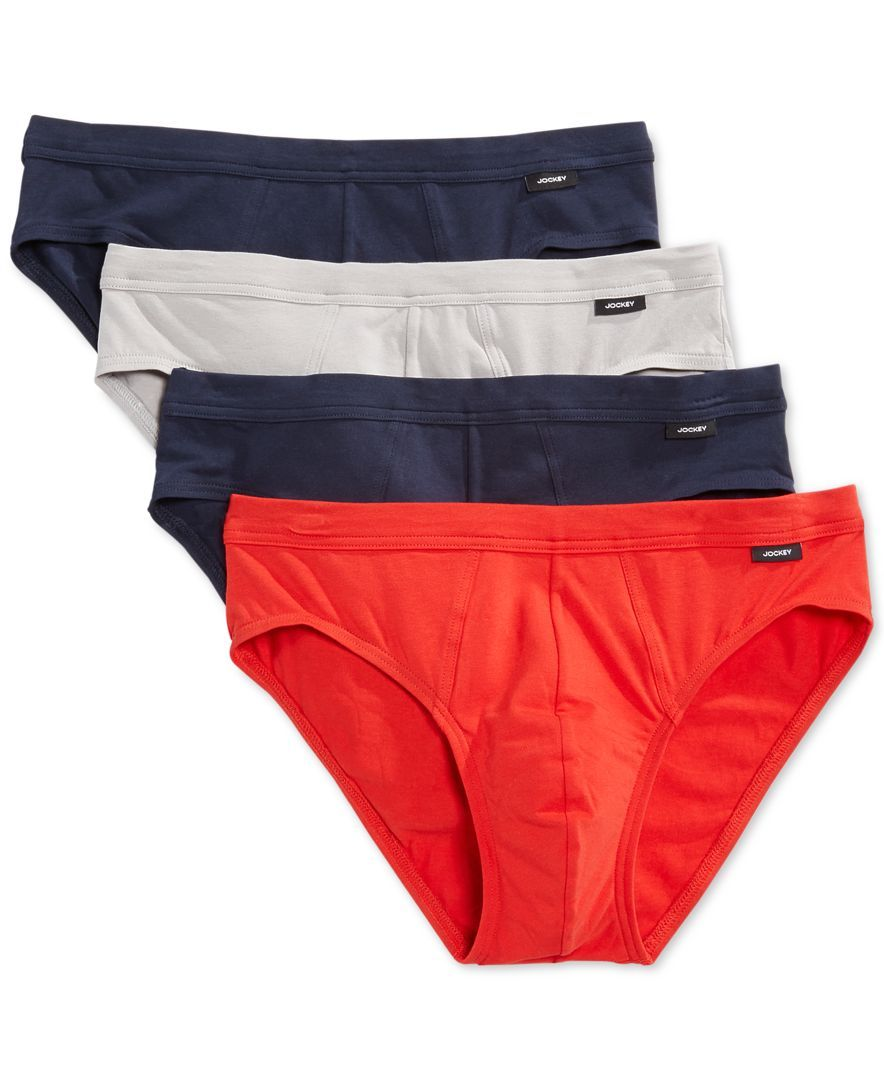 03aa723e3ae5 Jockey Stretch Bikini Briefs, 4 Pack Ropa Interior, Comprar, Ropa Interior  De Hombres