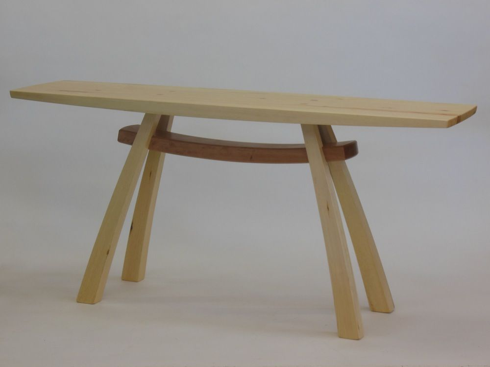 Arc Trestle Hall Table By Steven White