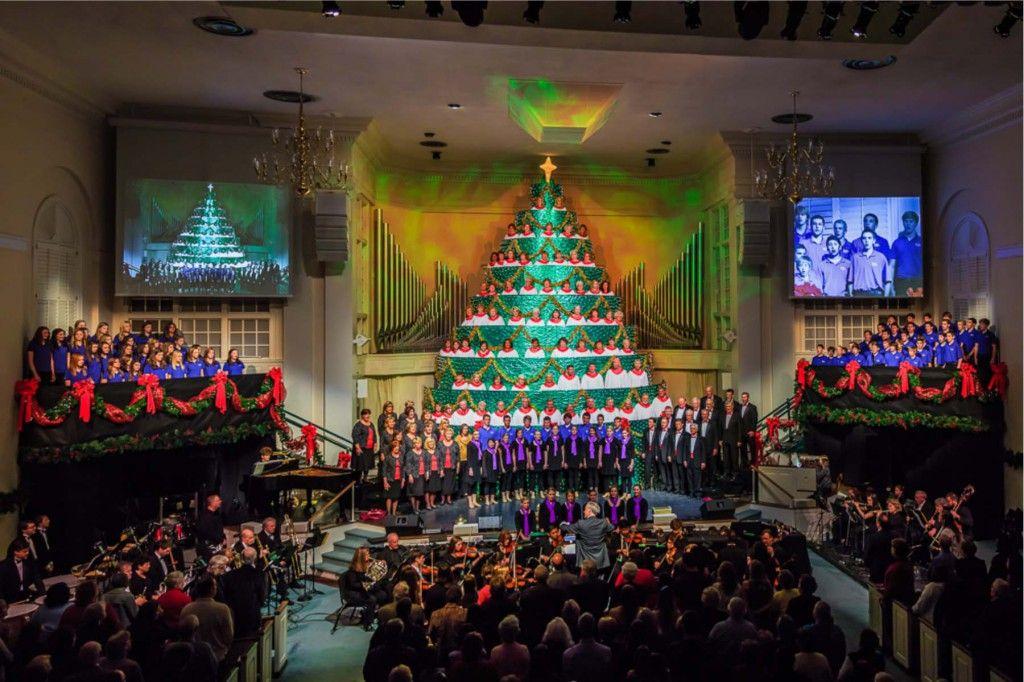 Singing Christmas Tree Snyder Memorial Baptist Church