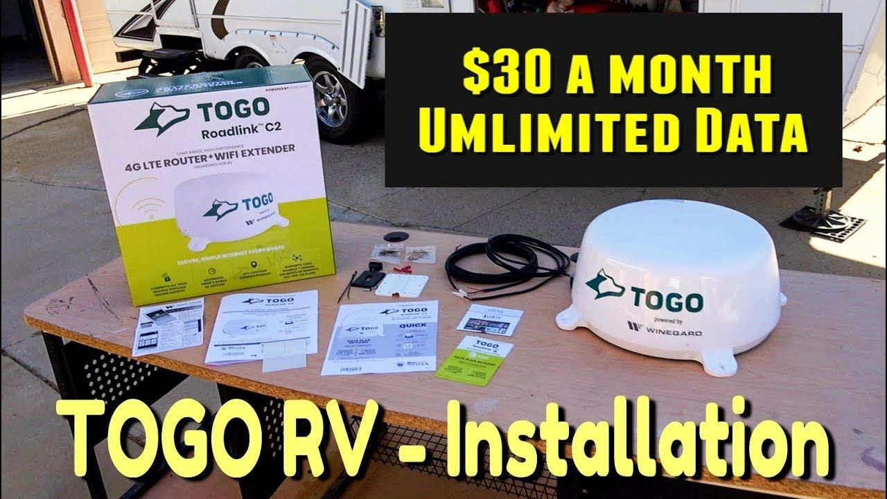 Installing TOGO Roadlink C2 by Winegard with 30 a Month