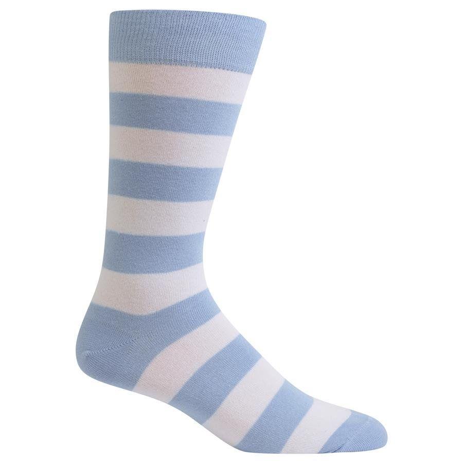 Mens Fashion Performance Polyester Socks Blue Fish Casual Athletic Crew Socks.
