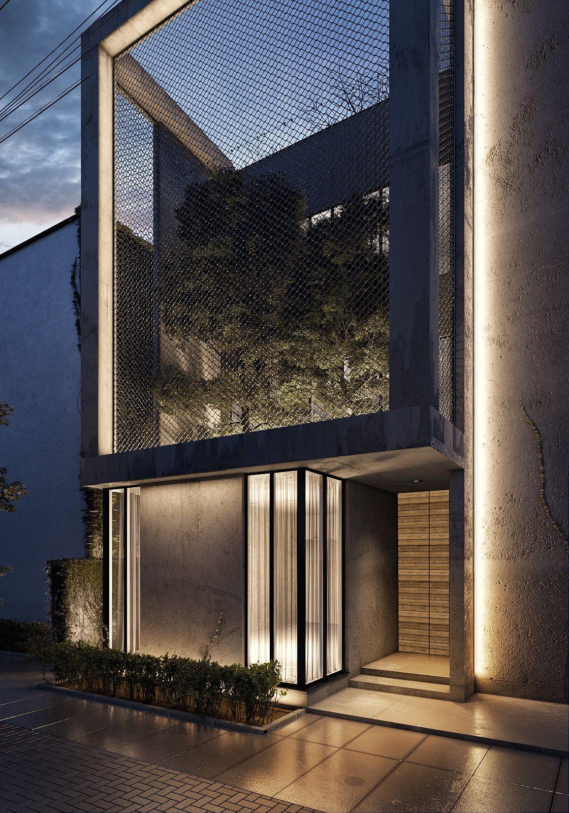 The Al Ali Home by Lines Design Creation and Consultancy | Maison | Architecture, Maison design ...