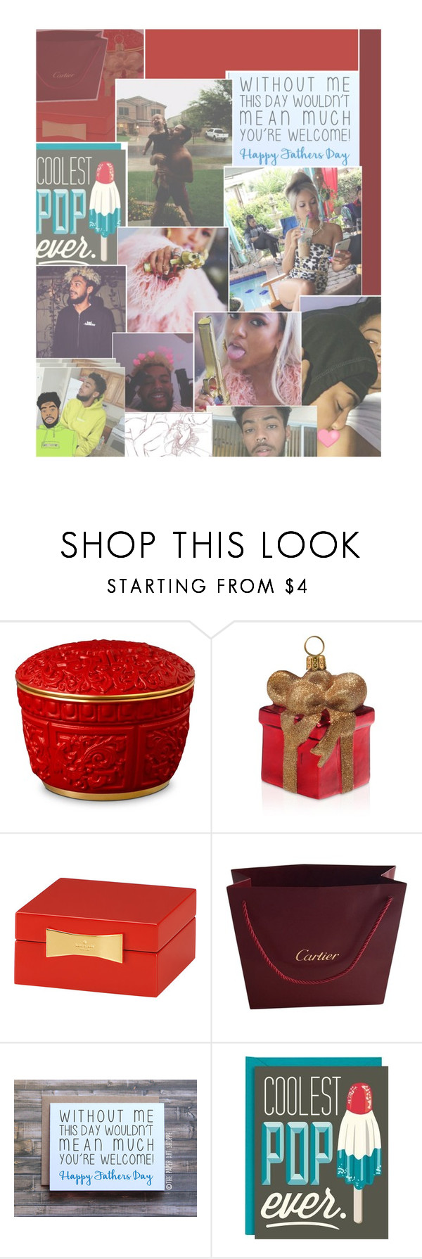 """""""The set before 50 items 🙂"""" by b3auteou-s ❤ liked on Polyvore featuring beauty, L'Objet, Joy To the World, Kate Spade, Cartier and Adamo"""
