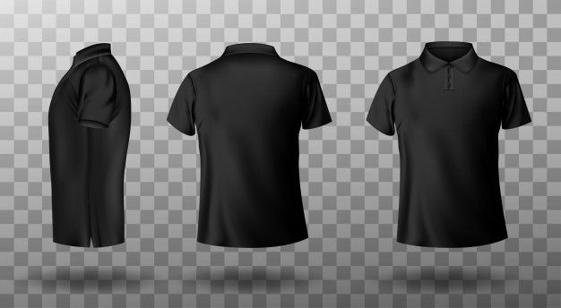 Download Download Realistic Mockup Of Male Black Polo Shirt For Free In 2020 Black Polo Shirt 15th Clothing Print T Shirt