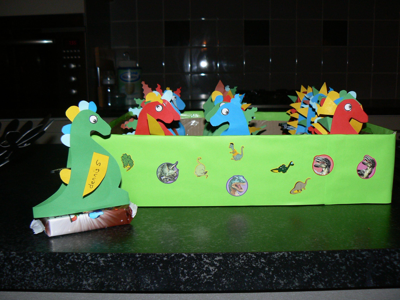 Dino traktaties van dennis kinderfeestje pinterest for Dino traktatie