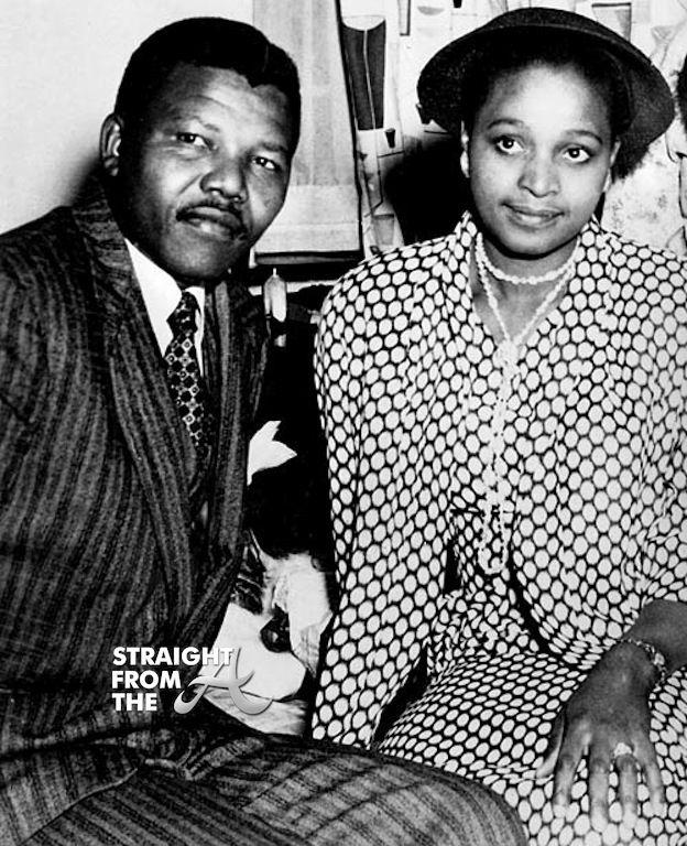 Nelson And Winnie Mandela Wedding Photo