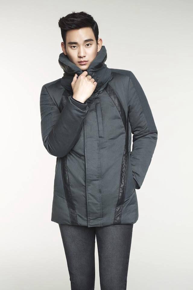 Kim soo hyun ZIOZIA winter 2014 collection