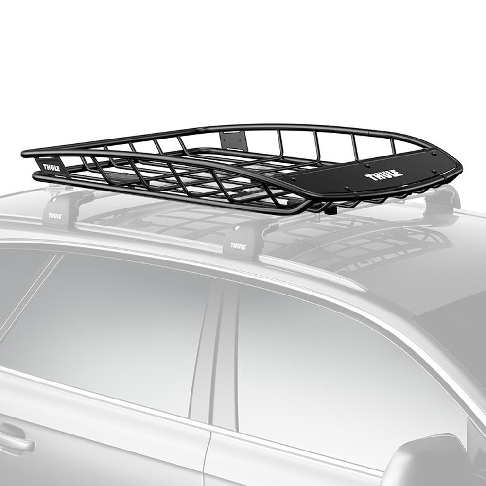 Toyota Sequoia 2003 Canyon Roof Cargo Basket By Thule Jeep Cherokee Roof Rack Roof Rack Thule Roof Rack
