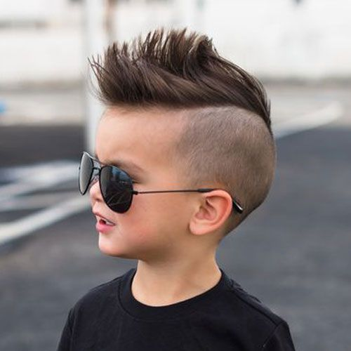 jungen haarschnitt irokese - skushi