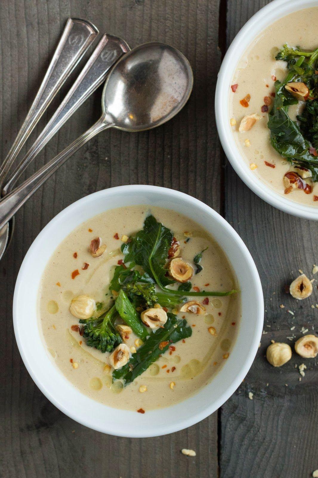 Pink Patisserie: Roasted Cauliflower Soup