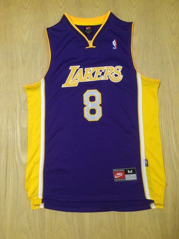 9160e6478 Kobe Bryant Minneapolis Lakers  8 Modern Away Purple Jersey