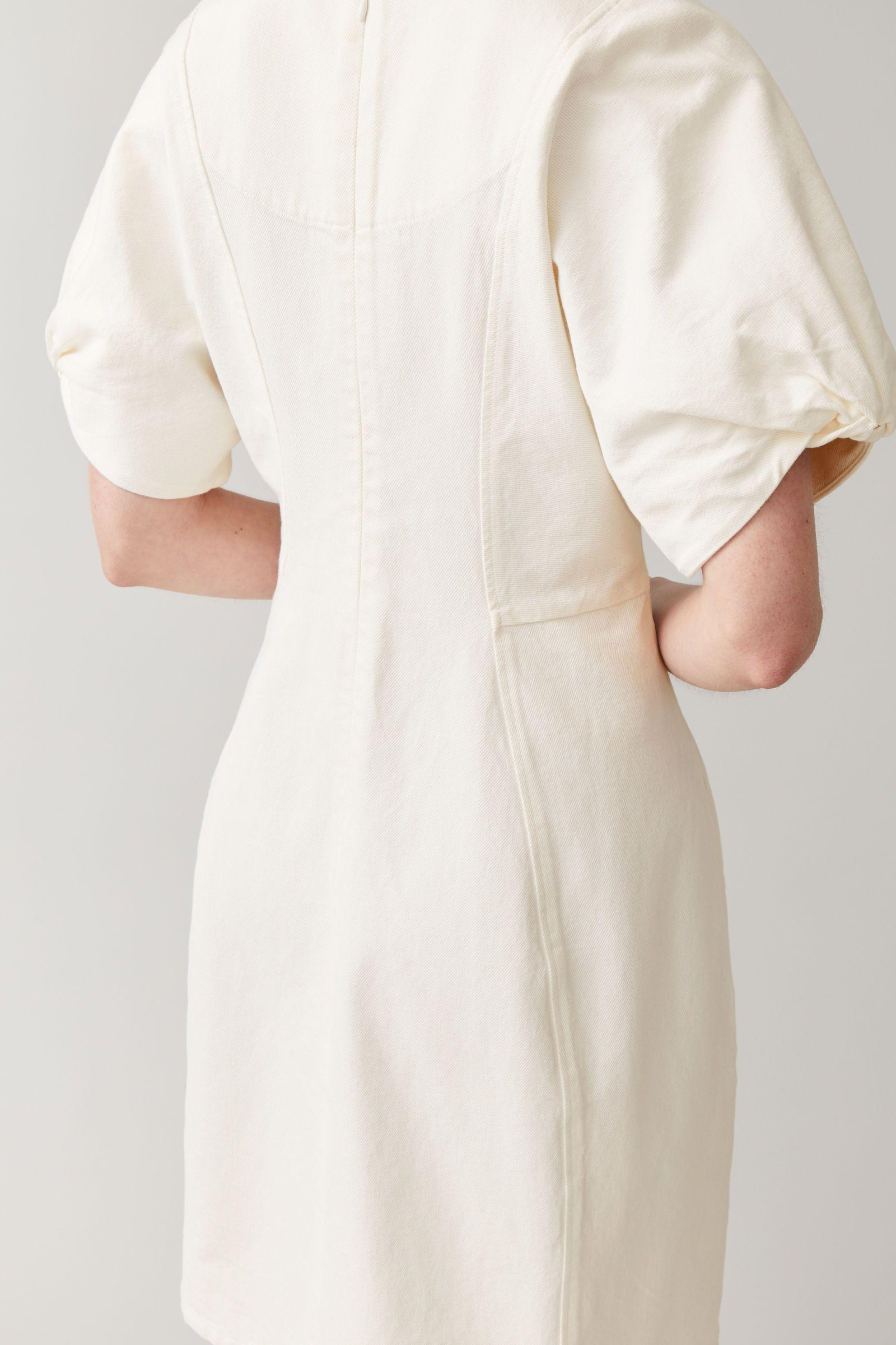 Cos organic cotton denim dress in 2020 denim dress