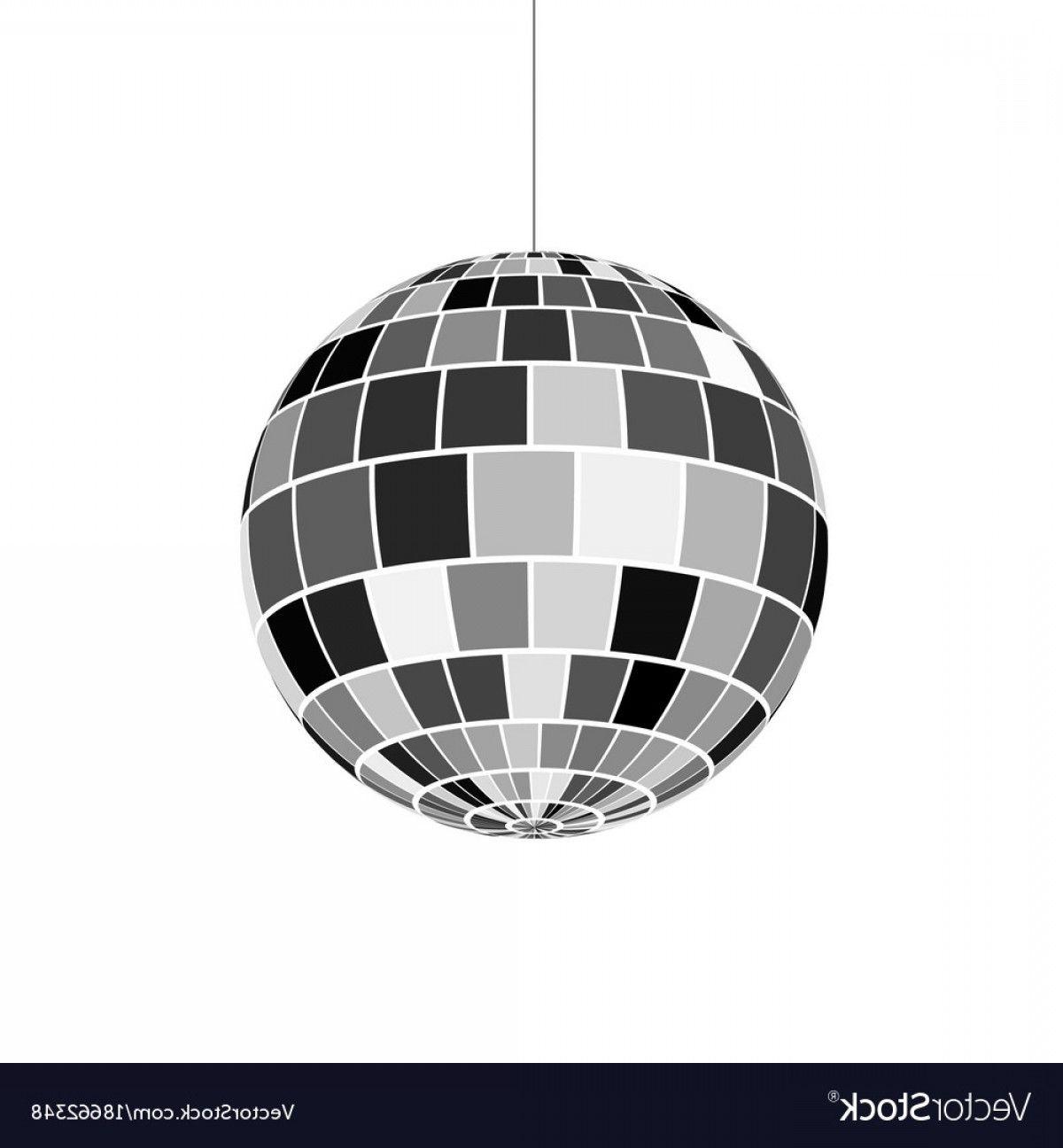 Mirror Ball Vector Disco Ball Icon Nightlife Of S Retro Disco Party Vector Mirror Ball Disco Ball Disco