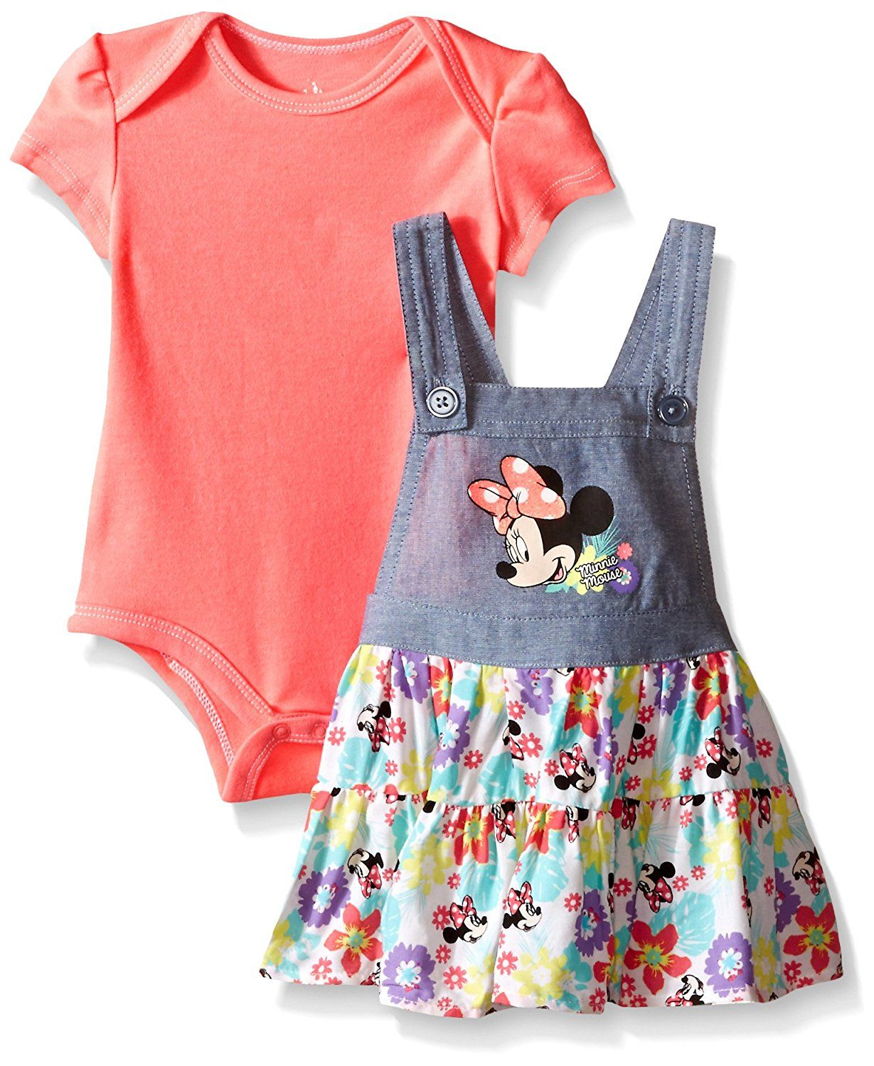 2b487aa20f59 Disney Baby Girls  Minnie Mouse Jumper Set (Pack of 2) -- Remarkable ...