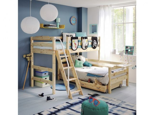 adoptez le lit superpos pour vos enfants lit superpos pinterest lit superpos bois lit. Black Bedroom Furniture Sets. Home Design Ideas