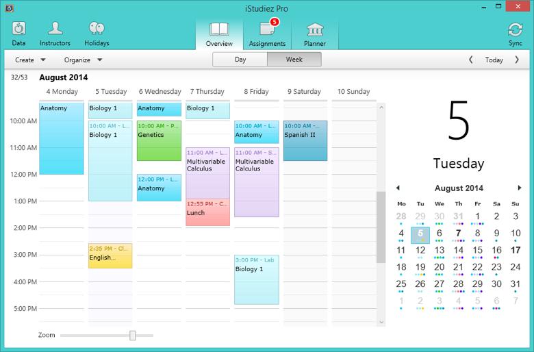 iStudiez Pro student planner app combines tracking