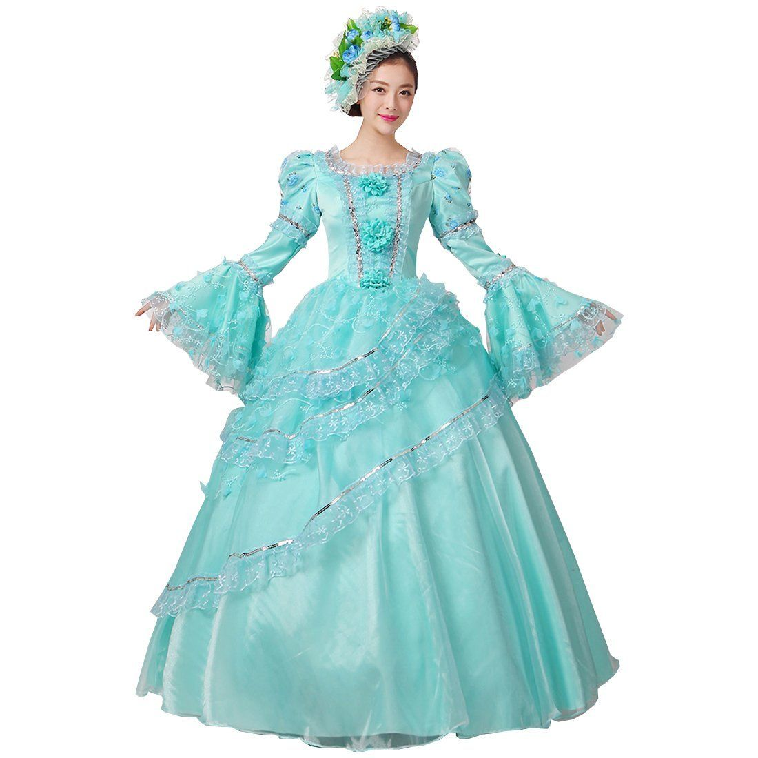 Partiss Women\'s Prom Gothic Victorian Fancy Palace Masquerade ...