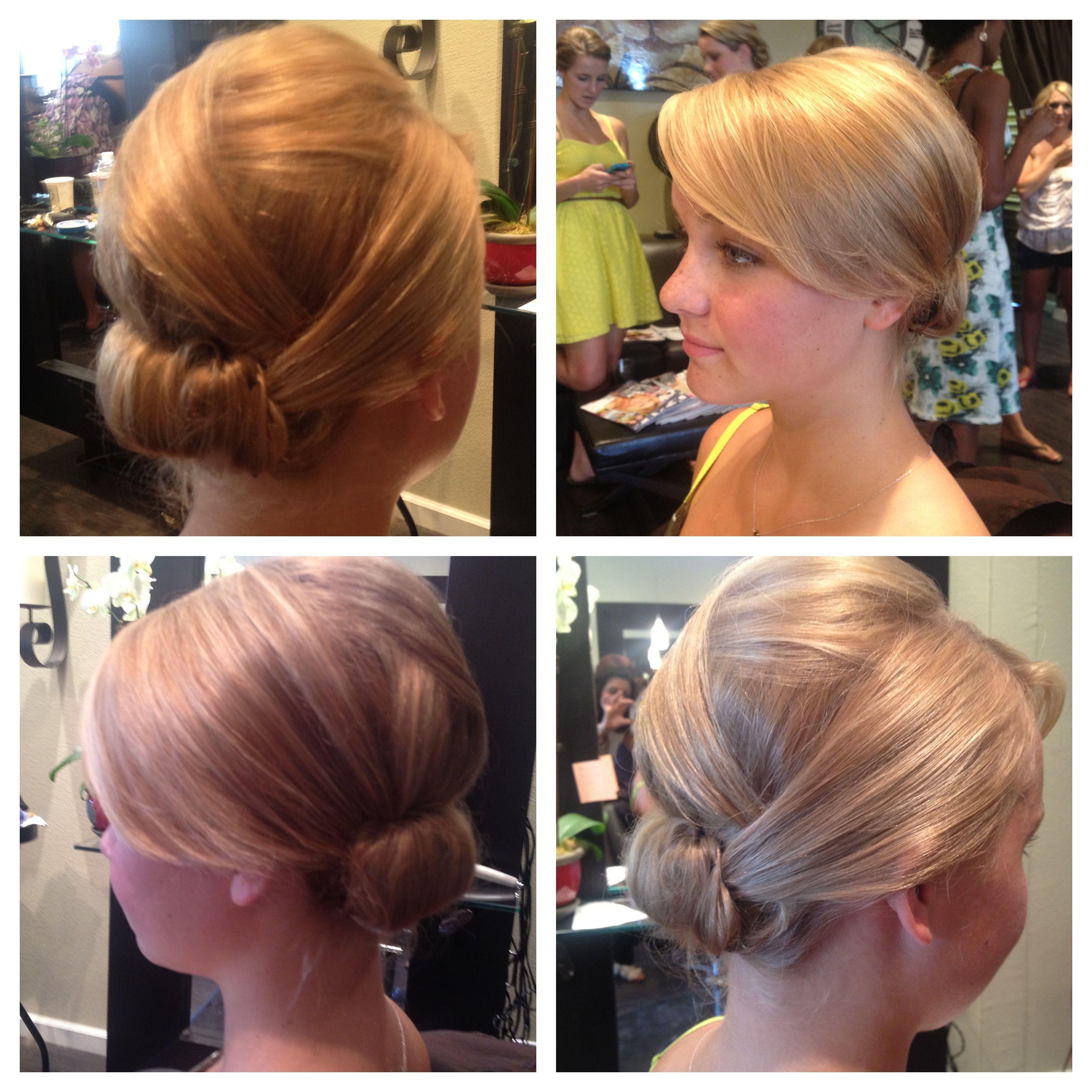 fine hair updo! bridesmaids | wedding hair | pinterest | fine hair