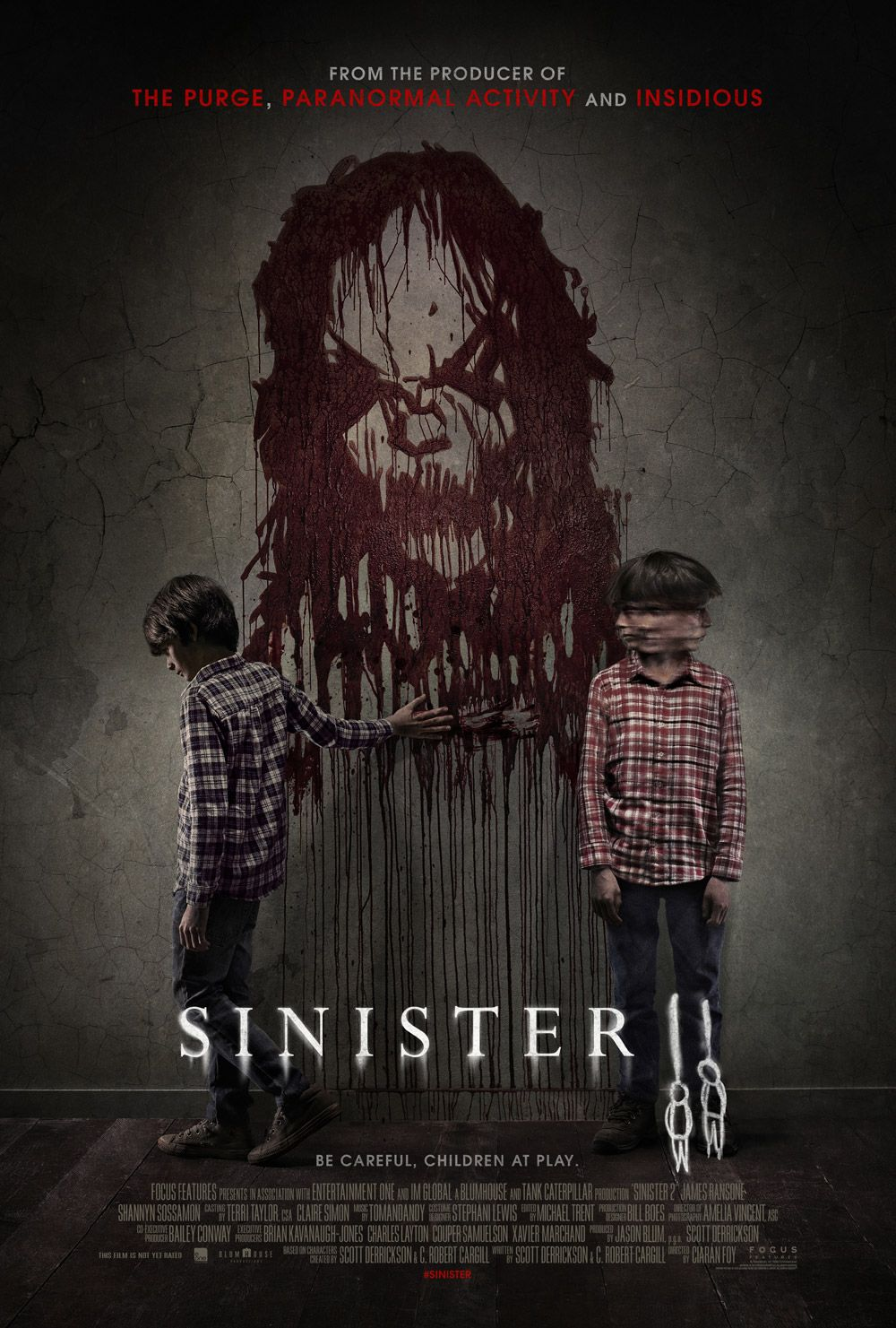 Official Poster For Sinister 2 Horror Movies Scary Movies Thriller Movies