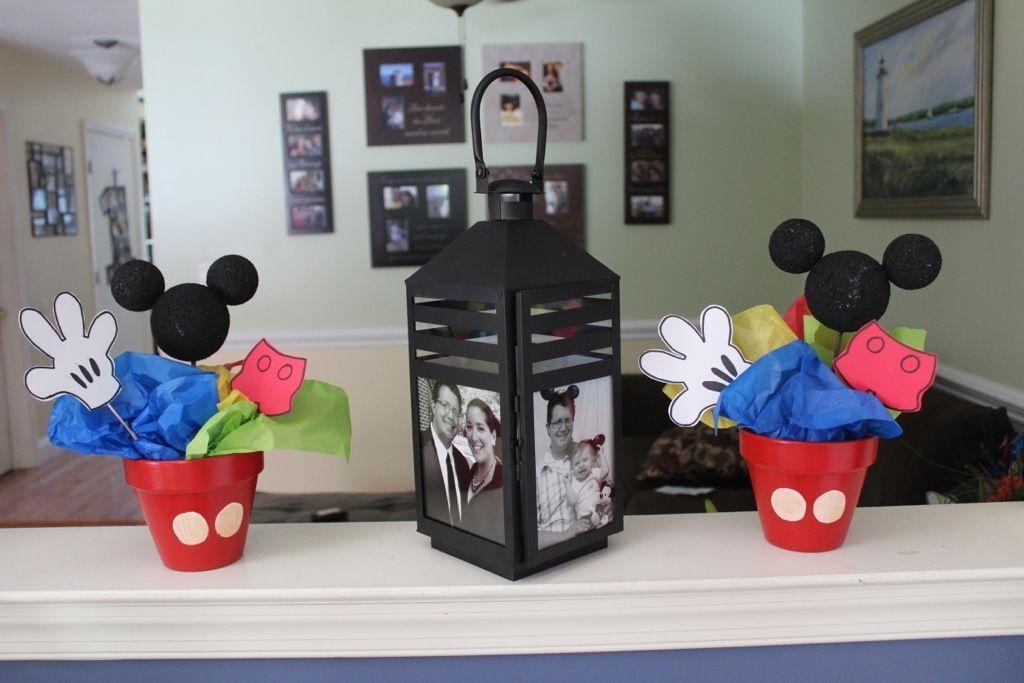 Mickey. Disney birthday. First birthday. Photo lantern