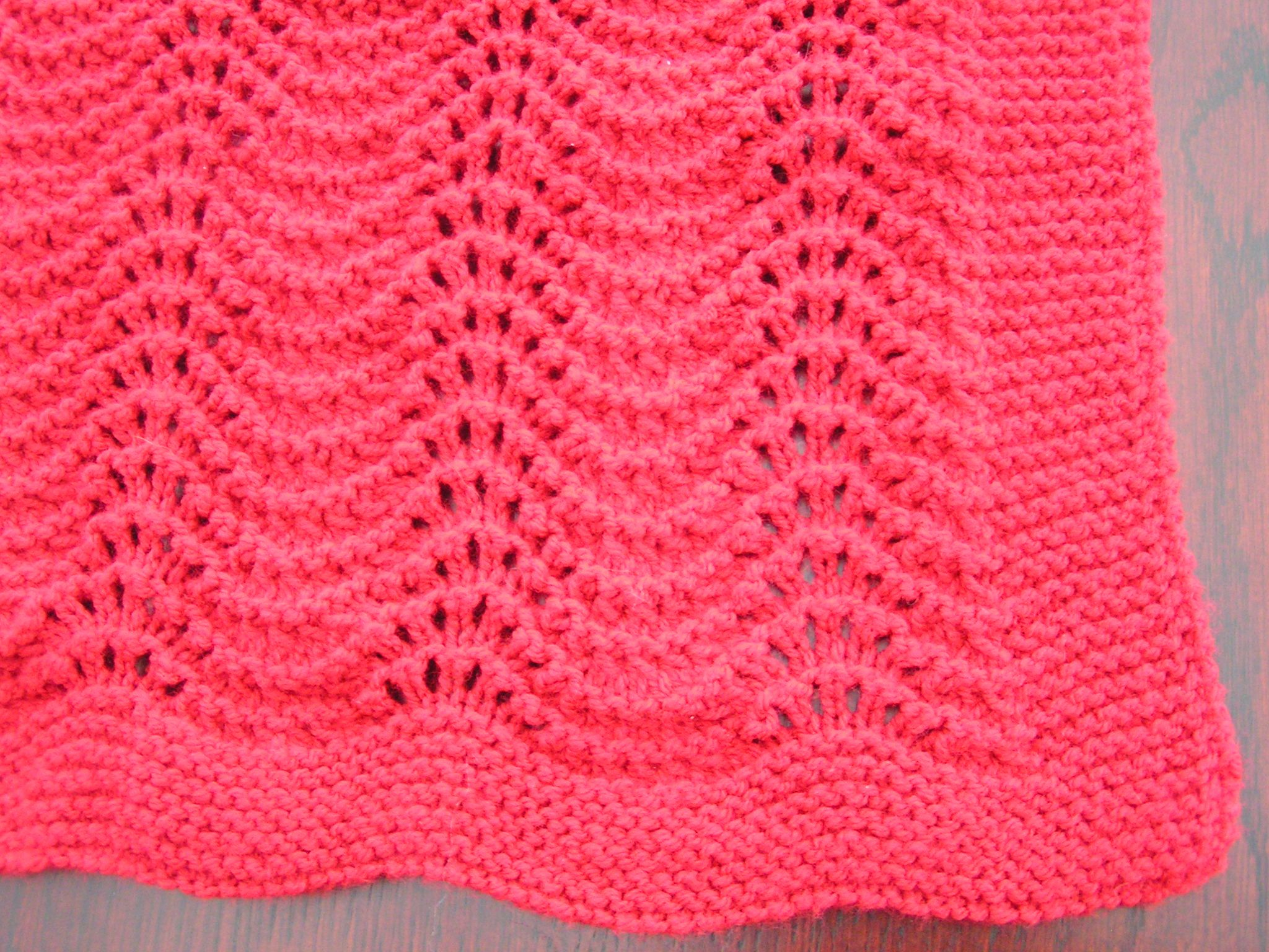 Easy Knitting Baby Blanket Patterns | Baby blanket ...